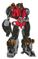 tf prime snarl colour by hulkling