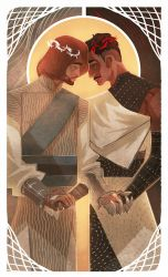 :tarot: The Lovers by ufficiosulretro