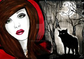 Little Red Riding Hood by DreamOn11