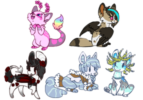 Finished Flash Cheeb Commissions by Jemanite