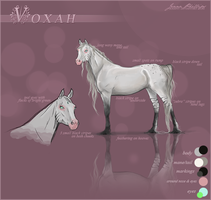 Voxah - Reference Sheet by Raiiiny