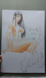 Vampirella   in production photo 2 by TIAGO-FERNANDES