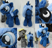 Luna Filly Plush by Cryptic-Enigma