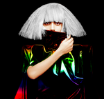 Lady Gaga Colorization by TheMorr