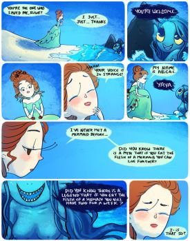 how to be a mermaid 7 by mayakern
