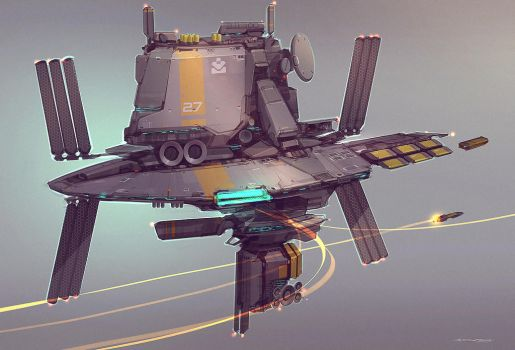 QR Space Station by Talros
