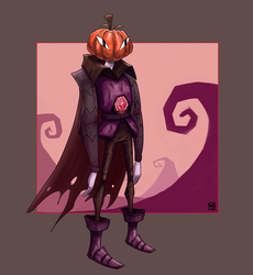 Pumpkin Man by Waltjan