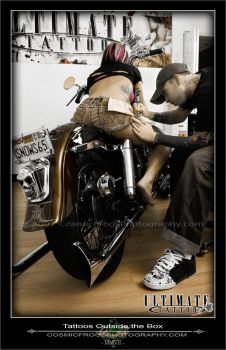 Tattoos Outside the Box by cosfrog