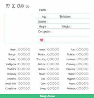 Cutsheet card by lectraplayer