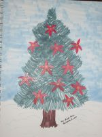Poinsettia Tree by Mr-Pink-Rose