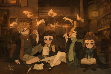 { collab } forbidden library meetup by LUAQ