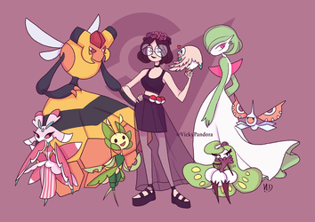 GYM LEADER Victoire by Vicky-Pandora