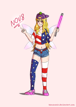 Clownpiece on a casual Nov 8 by KaneNash