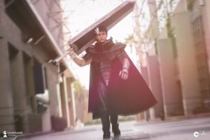 Guts Berserk Cosplay - Runway Bitch Walk by JFamily