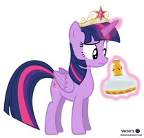 MLP Vector - Princess Twilight and the .. by MLPBlueRay