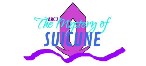 Mystery of Suicune Logo by AquaMon16