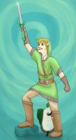 Link He Come to Town by MinorDiscrepancy