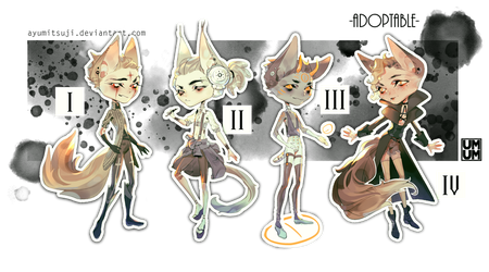 Adoptable batch AUCTION///OPEN - Paypal by AyumiTsuji