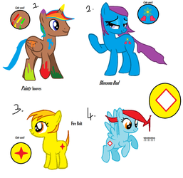 MLP Adopts by DiscoBearsFTW