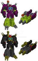 SoD Scorponok and Zarak by I-SithLord