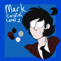 real lazy mark ref by Roseredren