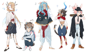 closed random adopt batch set price by Ii-ko