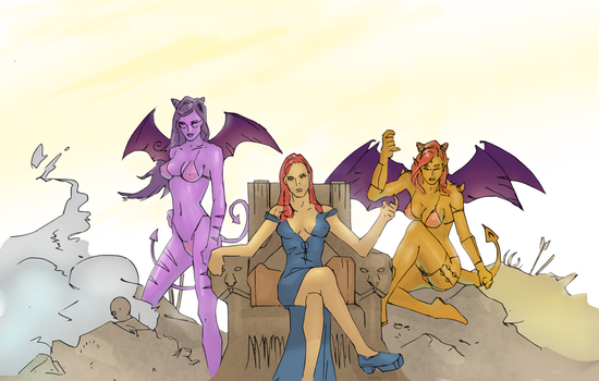 Wings (colored) by electronicdave