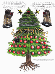 DOCTOR WHO: The Dalek Christmas Tree by Adam-The-Person