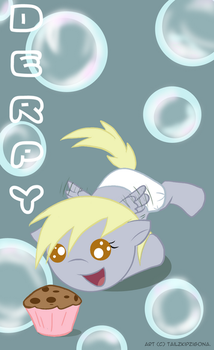 Derpy by doublerainbowfilly