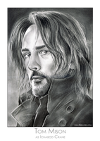 Tom Mison by gregchapin