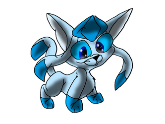 Glaceon by Angelicbunni3