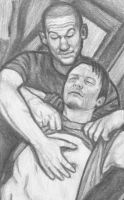 Shane making peace with Daryl by gagambo
