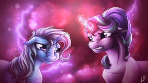 Storm of Anger by LupiArts
