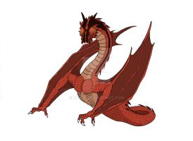 Smaug the Terrible by omei01