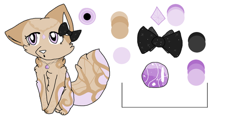 Custom Fox for Saku-Is-Bae + Palette! by DarkleyChaos