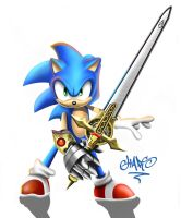 SONIC ilustration by chart1989