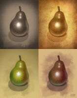 Four Pears by Kittensoft