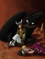 For ch4rms: Sons and Dragons by yamilink