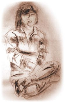 Seated Woman, Stratum XIV by lordsomber