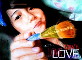 Love to Paint by EmoMayCry