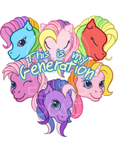 This is My Generation (T-Shirt) by AnScathMarcach