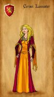 Cersei Lannister by serclegane