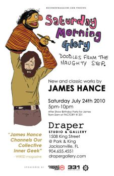 Saturday Morning Glory Flyer by strangelydrawn