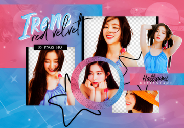PNG PACK: Irene #2 by Hallyumi