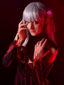 Dark Sakura from Fate/stay night Heaven's feel by Tinu-viel