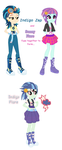 Indigo Zap and Sunny Flare Fusion by BerryPunchrules