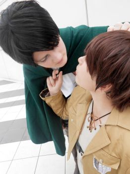 Ereri: I'll try to follow all your orders by Smexy-Boy