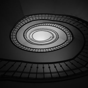 Stairwell by F1L1P