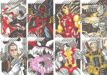 Cards Marvel Fleer Retro 10 by The-Satsui