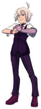 Dana Zane of VA-11 Hall-A by TheFinnicle